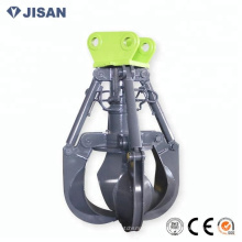 excavator scrap grapple, material grapple for excavator