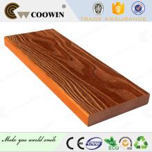 outdoor plastic laminated interlocking decking timber