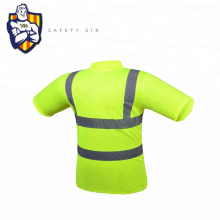 High Visibility Safety Reflective Long Sleeve Work T--Shirt
