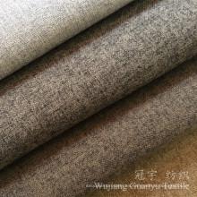 Tejido de lana de las ovejas de la tela de materia textil casera de la mirada para la tapicería