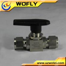 Válvula de bola del flotador del tanque de agua de la unión del doble del pvc de 4 pulgadas 2 vías