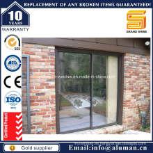 Puerta corredera de aluminio con aislamiento térmico y prueba de sonido (SD7790)