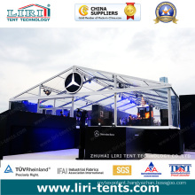 20X30m 500 People Tent Material PVC Transparent for Sale