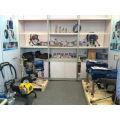 Machine de peinture de route de moteur à essence