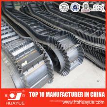 Large Angle Sidewall Cleated Conveyor Belt