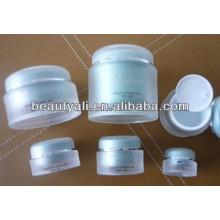 5ml 15ml 20ml 30ml 50ml 100ml 200ml Pulsera cosmética de acrílico de la forma redonda