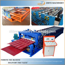 Colored Steel Double Layer Roof Panels Roll Forming Machine Manufacturer
