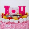 Disesuaikan I Love You Words Candles