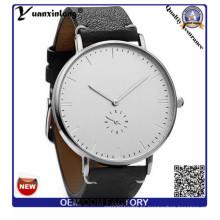 Yxl-314 caballero señora reloj de señora moda más nuevo diseño de correa de cuero genuino OEM / ODM Custom relojes