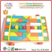 Juego de bloques de madera para niños