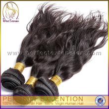 Лучшее качество большой длины Dyeable природных девственной европейских волос