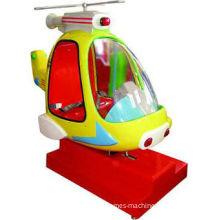 Playground Helicopter Kiddie Ride Machine 220v For Children / Kids Ya-qf017