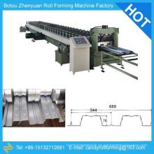 Boden Fliesen machen Maschine Preis, Stahl Deck Maschine, Boden Decking Maschine