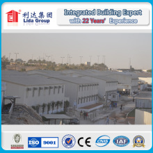 Dubai 4000 Square Meters Labor Camp Prefabricated K House with Galvanized Steel Structure