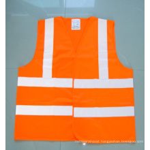 En471 Polyester High Visibility Reflective Safety Jacket