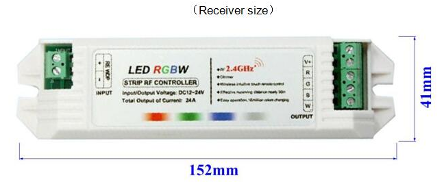 Controller led RGBW a 4 canali