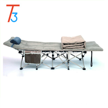 Army Man Deluxe Aluminum Lightweight Folding Camping Bed/Cot with Carry Bag