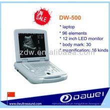 ultra-som do varredor do portátil para o veterinário (DW-500)