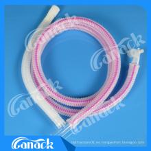 Circuito respiratorio de anestesia veterinaria