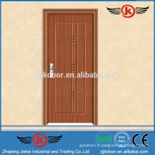JK-P9049 pvc flush door pour les prix du cabinet de cuisine