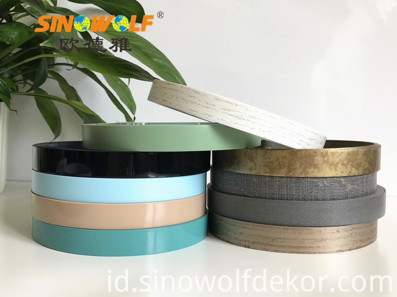 High Quality Solid Color PVC Edge Banding Price