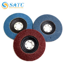 Quick change abrasive mini flap disc for metal and steel