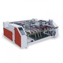 Semi-automatic carton box folder gluer machine