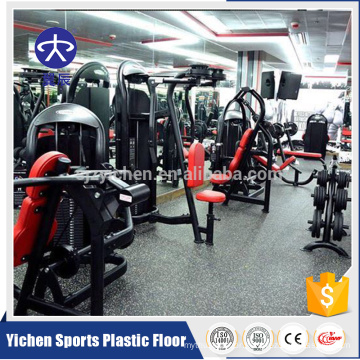 EPDM colorful rubber flooring roll for gym