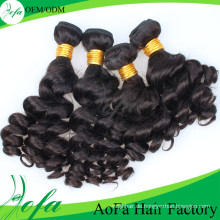 Neues heißes verkaufendes menschliches welliges Haar Remy brasilianische Haarverlängerung