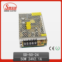 DC-DC Switching Power Supply 24V 50W com CE RoHS Aprovado