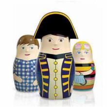 Custom DIY Wooden Russia Matreshkas Craft for Travel Gift Souvenir
