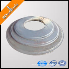 pipe pile end plate blank