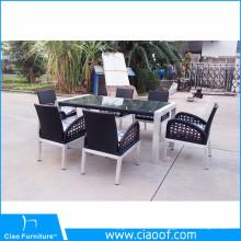 Juegos de mesa y silla con cubierta para todo clima