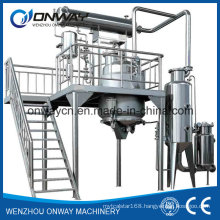 Rho High Efficient Factory Price Energy Saving Hot Reflux Solvent Distiller