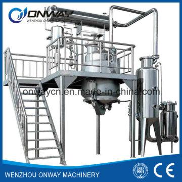 Rho alto ahorro de energía de ahorro de energía ahorro de energía del tanque de extracción de fábrica de tanque destilación de reflujo