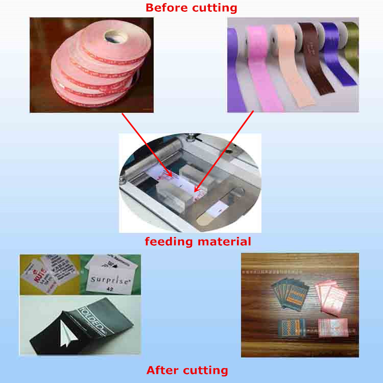 Sepenuhnya Auto Ultrasonic Gift Belt Cutting Machine