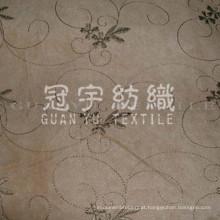 Bordado de camurça para uso em têxteis domésticos de sofás