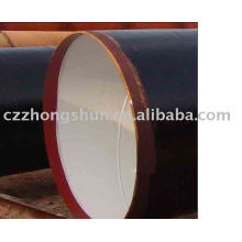 3PE steel pipe/ tube ASTM SPIRAL ANTI-CORROSION PE WELDED STEEL PIPE