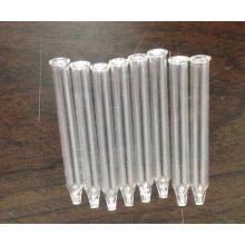 Pipeta de vidro desobstruído Tubular do atarraxamento para embalagem de óleo essencial