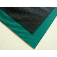 Striped Truck Bed Mat, Anti-Slip Rubber Sheet, Garage Rubber Sheet