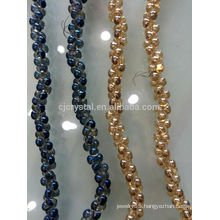 glass crystal beads strands,fashion beads for diy jewelry,high quality glass beads