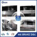 Man Heavy Truck Parts Rotor de disco FCR215A