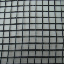 Geocomposite of Nonwoven Geotextile and Fiberglass Geogrid