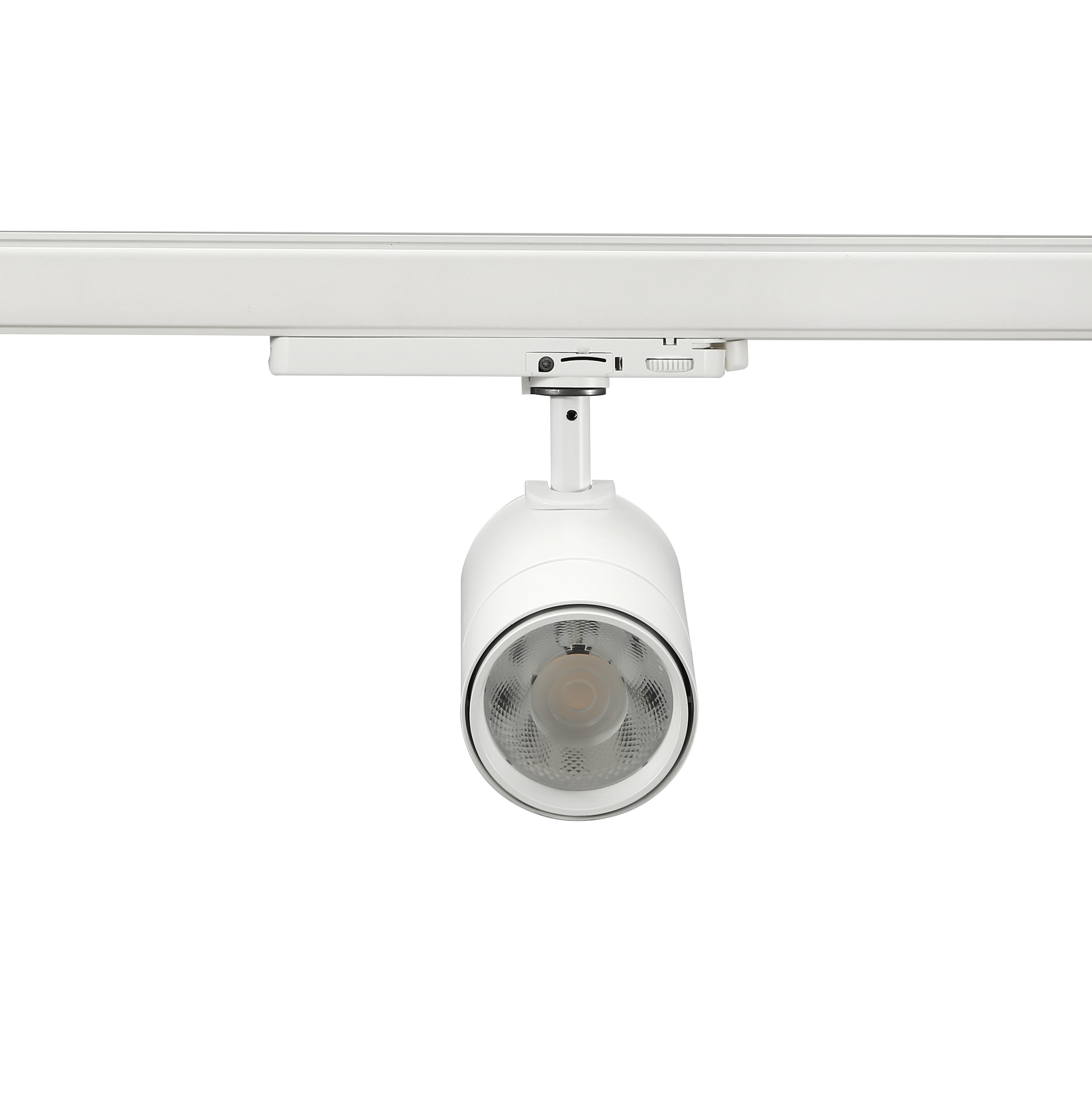 25W led tracklight white front