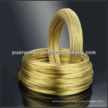 bright brass wires 0.02mm