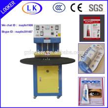 Machine semi-automatique de cachetage de boursouflure