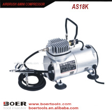 Make up mini compressor airbrush compressor kit