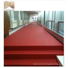 roter Fußboden scherzt Badezimmer unregelmäßig geformte Schieferfliese