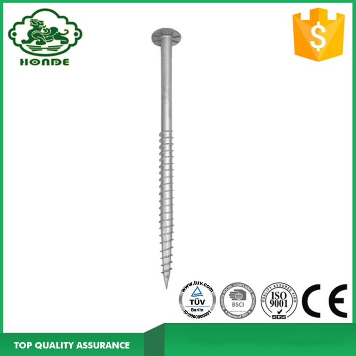 Round Flange Earth Screw