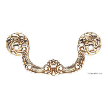 American High Quality Zinc Alloy Antique Brass Furniture Pull Handle